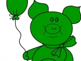 Раскраски: My Native Pig