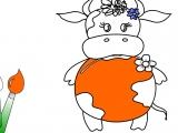 Раскраски: My Little Cow