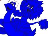 Раскраски: Львенок и Черепашка