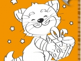 flash игра Раскраски: Kitten