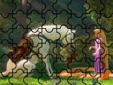 Princesa Rapunzel y el Caballo