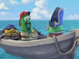 Flash игра для девочек Пазлы: Пираты - В открытом море