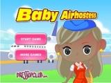 Flash игра для девочек Baby Airhostess