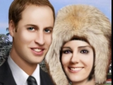 Flash игра для девочек The Fame - Prince William & Kate Middleton