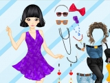 Flash игра для девочек Fashion Girl And Cute Birds