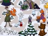 Flash игра для девочек Зимний лабиринт