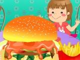 Flash игра для девочек Deluxe Hamburgers