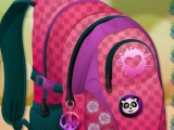 flash игра School Bag Decorating
