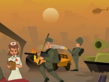 Flash игра для девочек Love In War