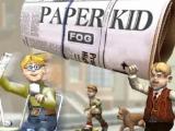 Flash игра для девочек Paper Kid