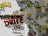 Flash игра для девочек Notebook Drift