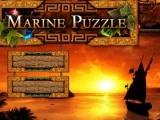 flash игра Marine Puzzle