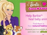 Flash игра для девочек Барби спасает животных