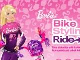 flash игра Барби на велосипеде