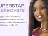flash игра Superstar Makeovers - Барби звёздный макияж