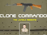 Flash игра для девочек Сlone commando - The jungle mission