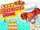 Flash игра для девочек Cook Delicious Pies