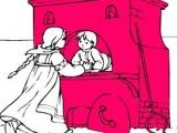 Flash игра для девочек Раскраски: Swan Goose