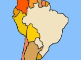 Flash игра для девочек Geography Game - South America