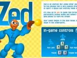 Flash игра для девочек Zed - Зед