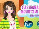 Flash игра для девочек Fashionable Mountain Girl