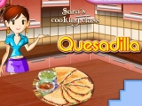 Quesadilla Cooking