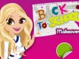 flash игра Тесты: Back To School Makeover Test