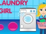 Flash игра для девочек Laundry Girl