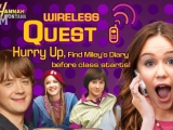 flash игра Hannah Montana: Wireless Quest