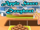 Apple Sauce Doughnuts