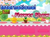 Flash игра для девочек International Flower Show