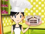 Flash игра для девочек Торт - мороженное