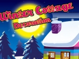 Winter Cottage Decoration