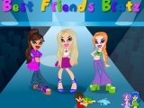 flash игра Best Friends Bratz