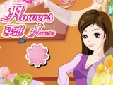 Flash игра для девочек Thanksgiving Flowers Full House
