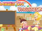 Flash игра для девочек Babies on vacation