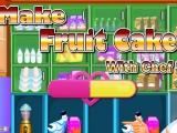 Make Fruit Cake - Сделайте фруктовый кекс