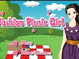 Fashion Picnic Girl