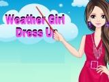 Flash игра для девочек Weather Girl