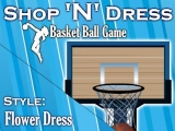 flash игра Shop N Dress Basket Ball Game: Flower Dress