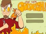 Flash игра для девочек Спаси золотых рыбок