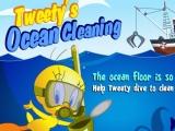 flash игра Твитти: Уборка океана