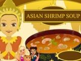 Flash игра для девочек Суп с креветками