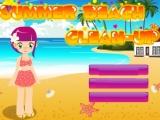 Flash игра для девочек Beach CleanUp