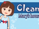 Flash игра для девочек Clean Marys House