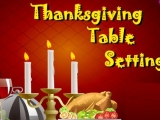 Flash игра для девочек Thanksgiving Table Setting