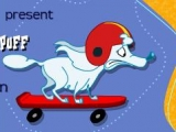 flash игра Собака на скейтборде