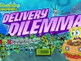 Flash игра для девочек Sponge Bob: Delivery Dilemma