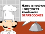 Make Star Cookies
