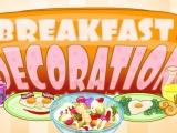 flash игра Breakfast Decoration